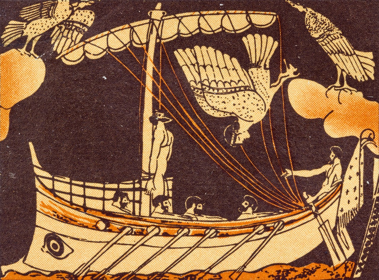 Timeless Classics: The Iliad and The Odyssey (Illustrated) Pictures of sirens from the odyssey